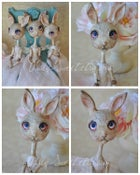 Image of Art Print ACEO's Cards Bunnies