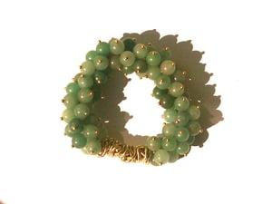 Image of Aventurine Cluster Bracelet