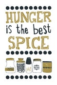 Image of Hunger Is The Best Spice - Illustration