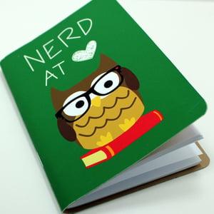 Image of Nerd At Heart Pocket Notebook