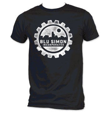 Blu Simon Incorporated Tee