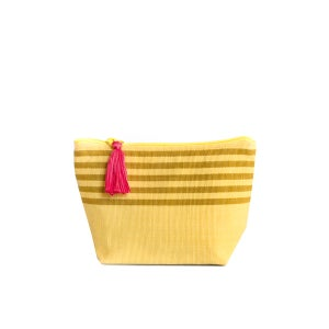 Image of Small Tassel Bag Yellow/Mustard