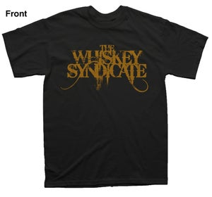 Image of Official LOGO T-Shirt With Back Print - Black