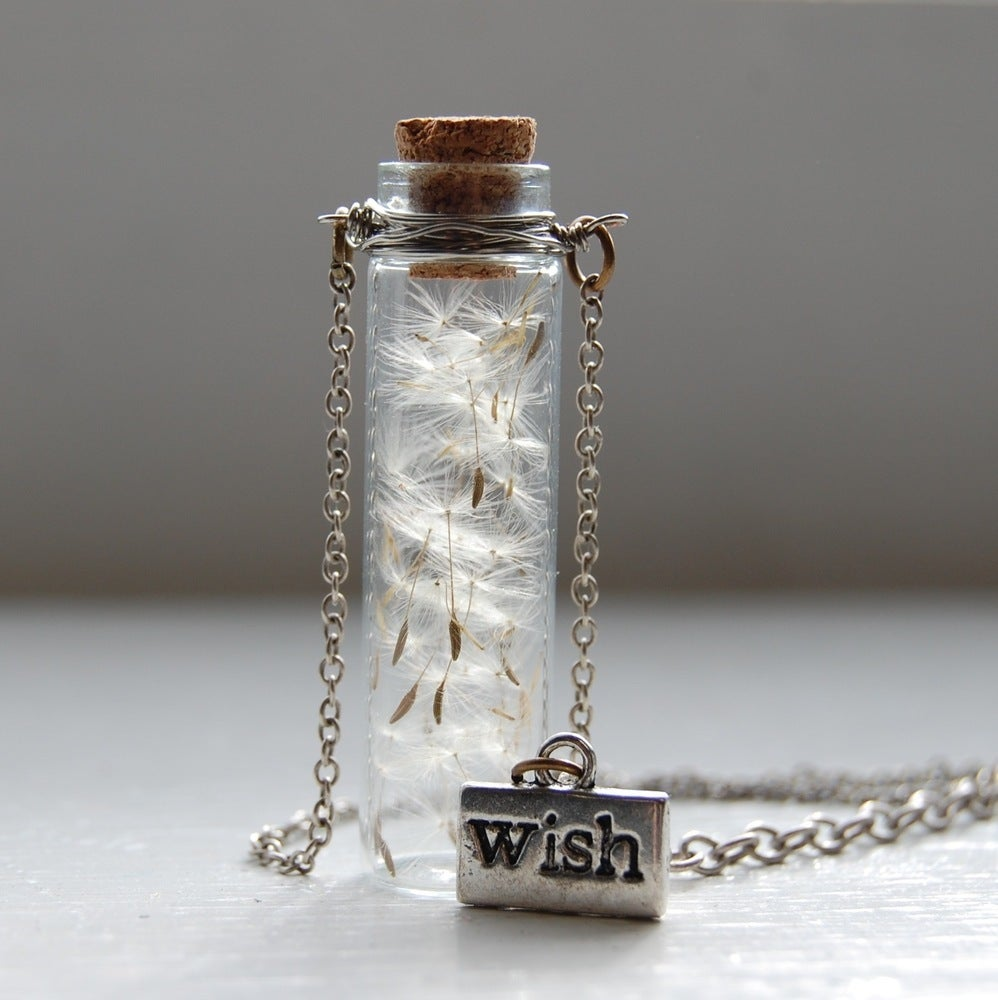 Image of As You Wish Dandelion Necklace