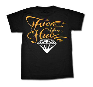 Image of Diamond Tee - Gold/White (2X IN STOCK)