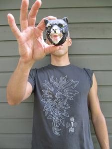 Image of Charcoal Crystals Tshirt