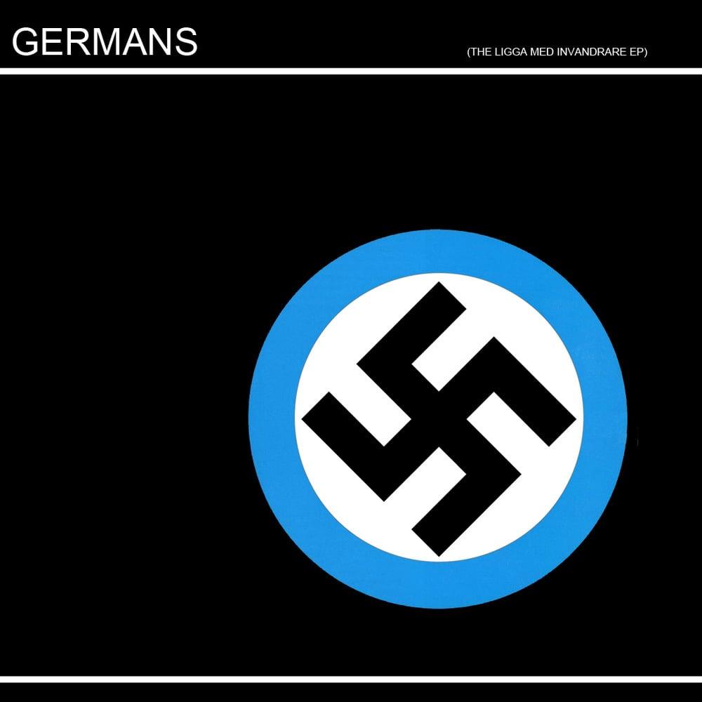 "Image of The überlimited ""ligga med invandrare EP"" GERMANS edition"