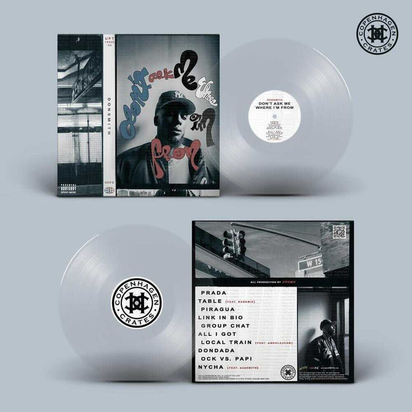 """ULTRA CLEAR 12"""" Vinyl - """"Don't Ask Me Where I'm From"""""""