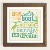 Image of Row, Row, Row Your Boat