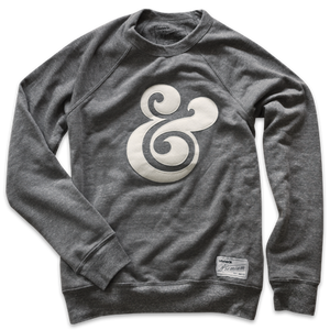 Image of PREMIUM AMPERSAND CREWNECK (GRAY)