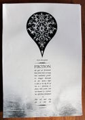 Image of FIKTION - BURN THAT GLOOM POSTER A3