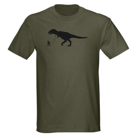 Dino Walker Adult Unisex T-Shirt