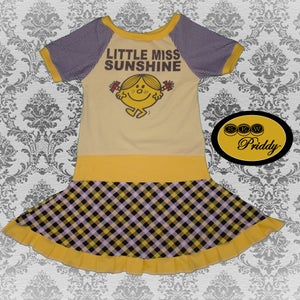 Image of **SOLD OUT** Little Miss Sunshine Extra Flouncy Dress - Size 5/6