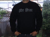 Image of 'olde ghost' Logo Crewneck Sweatshirt