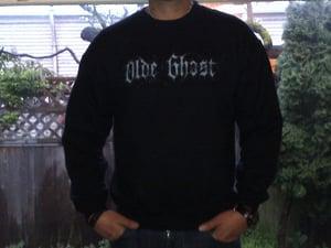 Image of 'olde ghost' Logo Crewneck Sweatshirt
