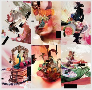 Image of Surreal Tea Party Postcard Pack