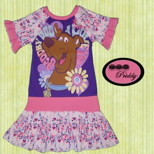 Image of **SOLD OUT** I Love Scooby Doo Dress - Size 5/6