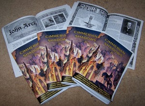 Image of Cimmerian Shadows zine - Issue 2