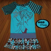 Image of **SOLD OUT** Tinkerbell Made You Look Dress - Size 5/6
