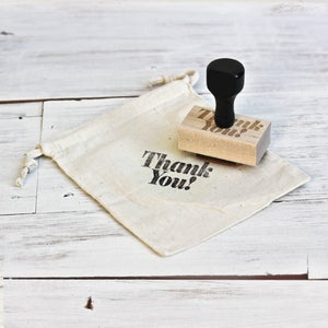 Image of THANK YOU Wooden Stamp