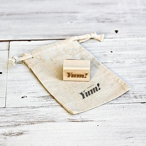 Image of Mini YUM Wooden Stamp