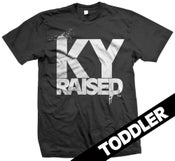 Image of KY Raised Toddler in Black & White