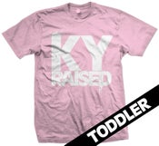 Image of Ky Raised Toddler in Light Pink & White