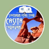 Image of Southern Utah Tour - Casita Caravan Decal