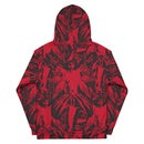 Image 2 of NAMELESS RED ALLOVER HOODIE