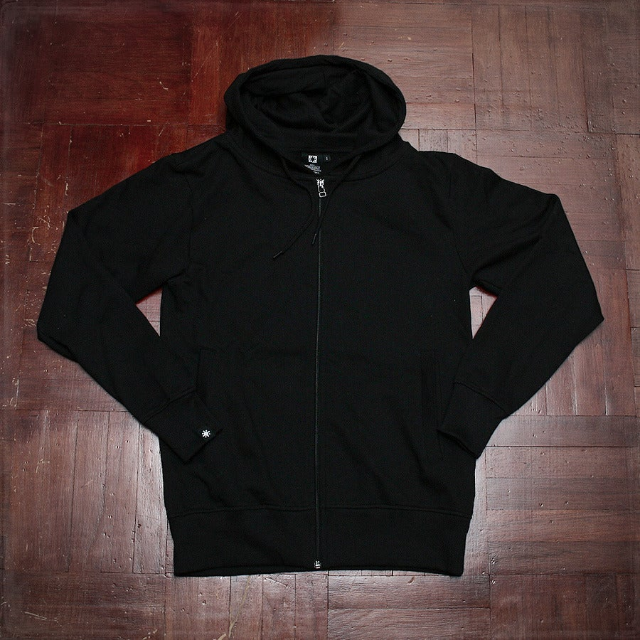 Image of Sticker Repeat Hood - Black
