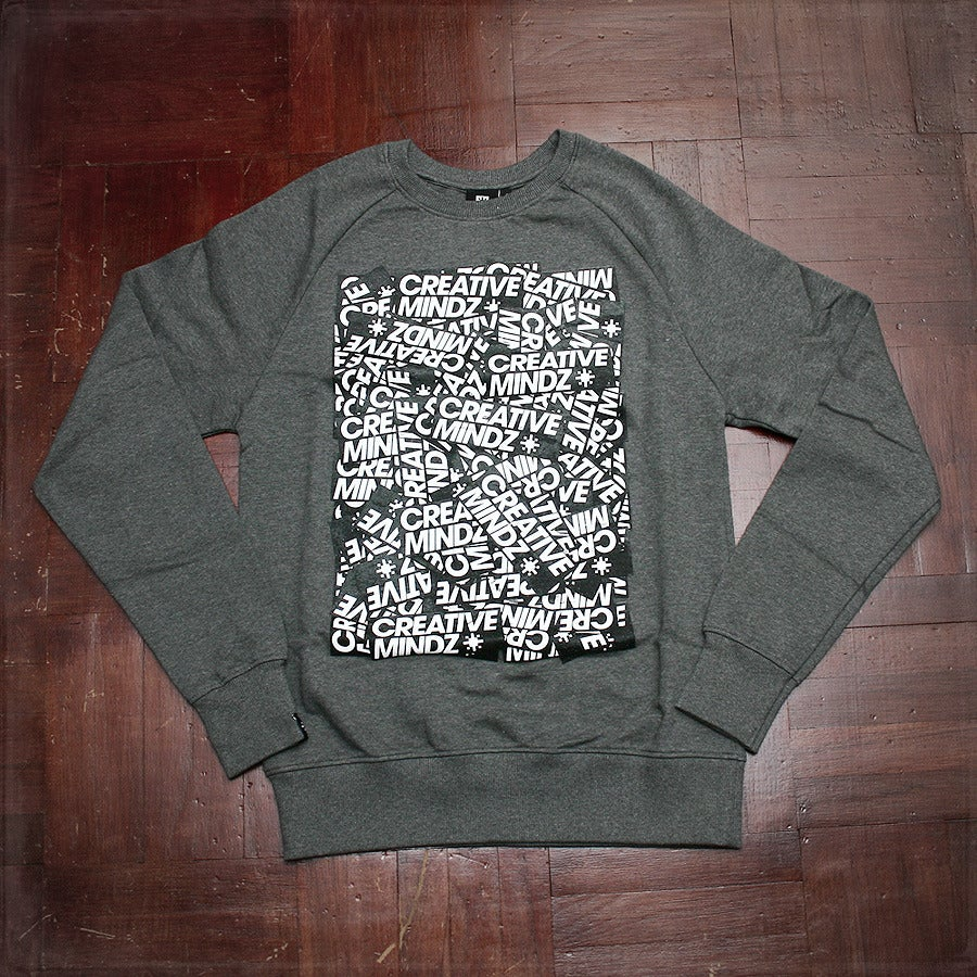 Image of Sticker Repeat Sweat - Grey