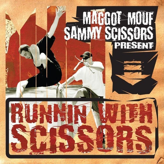 Image of BTE021 - Maggot Mouf - Running With Scissors