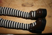 Image of Brown Platform Mary Jane's SD BJD Shoes