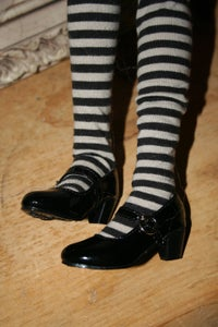 Image of Black Mary Jane's SD BJD Shoes