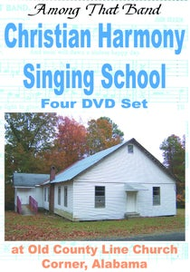 Image of Christian Harmony Singing School - 4 DVD set