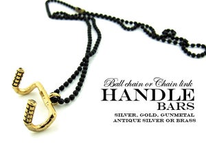 Image of HANDLEBAR CHARM NECKLACE