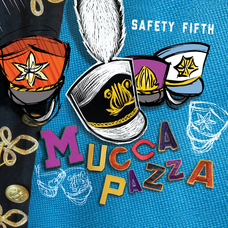 Image of Mucca Pazza - Safety Fifth CD  (ECR703)