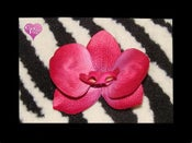 Image of Fuchsia Orchid Hair Clip