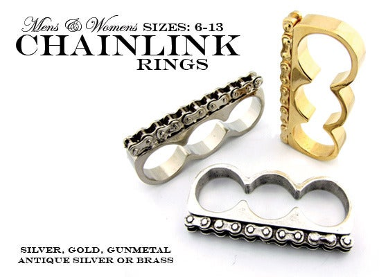 Image of 3 FINGER BIKE CHAIN RING