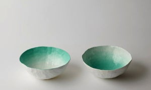 Image of Aqua Fade Bowl Set