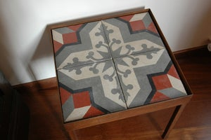 Image of Bishops cross end table