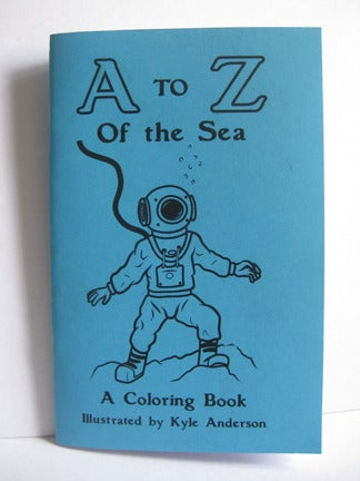 "Image of ""A to Z of the Sea"" Coloring Book"