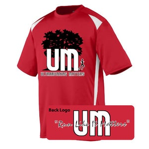 Image of Ultrarunning Matters Mens Red Running Shirt
