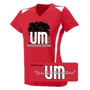 Image of Ultrarunning Matters Womens Red Running Shirt