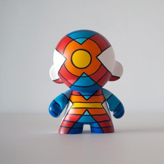 "Image of x superhero 7"" munny"
