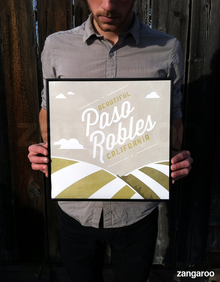 Image of Location: Paso Robles with FREE US Shipping