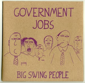 """Image of Government Jobs / Big Swing People 7"""""""