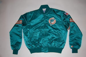 Image of Miami Dolphins Vintage Starter Jacket