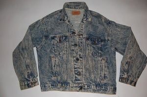 Image of New York Knicks Levi Denim Jacket
