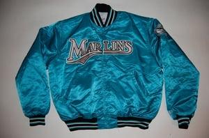 Image of Florida Marlins Vintage Starter Jacket